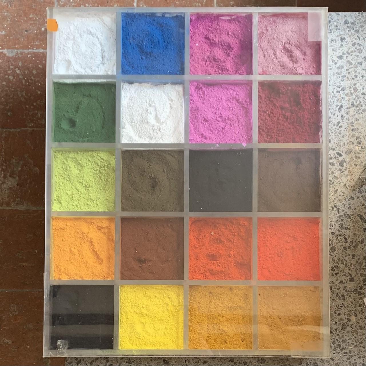 Boîte à pigments